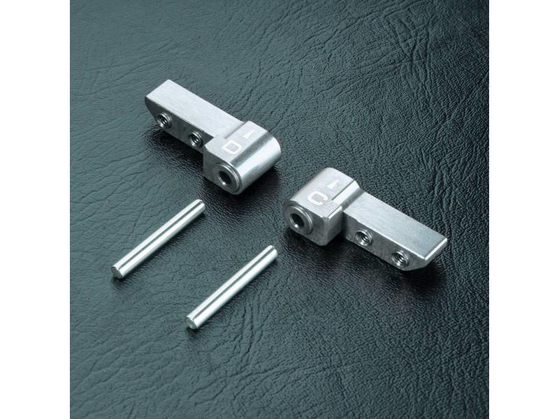 MST Aluminium HT Upper Arm C & D / Color: Silver