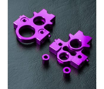 MST Alum. Lateral Motor Transfer Mount Set / Purple
