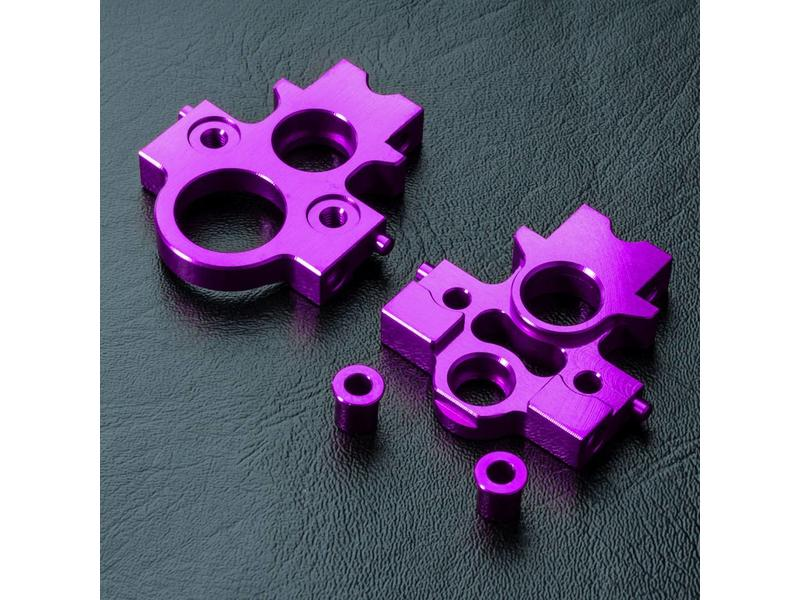 MST Aluminium Lateral Motor Transfer Mount Set / Color: Purple