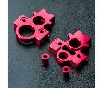 MST Alum. Lateral Motor Transfer Mount Set / Red