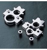 MST Aluminium Lateral Motor Transfer Mount Set / Color: Silver