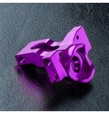 MST Aluminium Lateral Motor Bevel Gear Box / Color: Purple