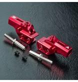 MST Aluminium HT Upper Arm A & B / Color: Red