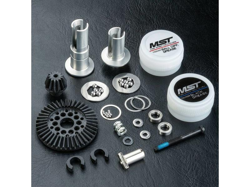 MST RMX Rear Shaft Ball Differential Set 40T - 13T