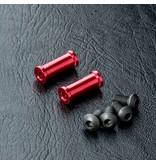 MST Aluminium Post M3 x 13mm (2pcs) / Color: Red