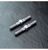 MST Aluminium Reinforced Turnbuckle φ3mm x 28mm (2pcs) / Color: Silver