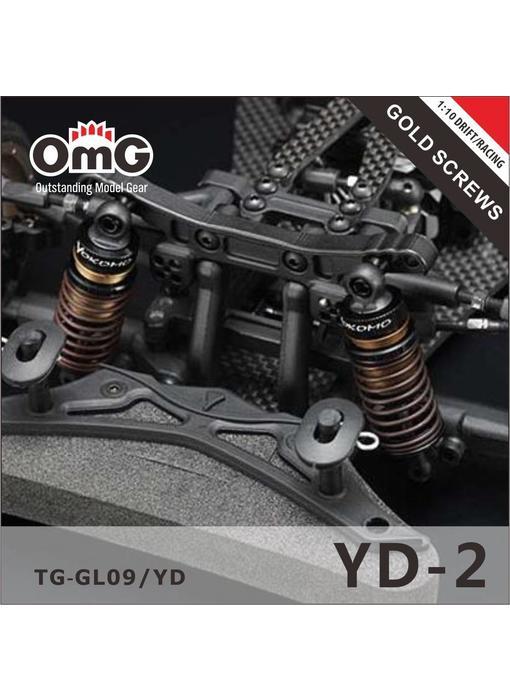 RC OMG Golden Screw Kit for Yokomo YD-2