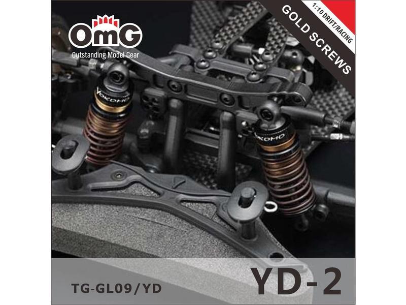 RC OMG TG-GS09/YD - Golden Screw Kit for Yokomo YD-2