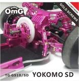 RC OMG TG-GS10/SD - Golden Screw Kit for Yokomo SD