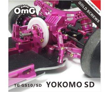 RC OMG Golden Screw Kit for Yokomo SD