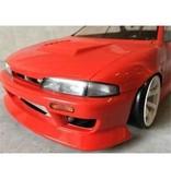 Addiction RC AD017-4 - Nissan Silvia S14 (Early) - BN Sports Body Kit - Aero Hood (Bonnet)