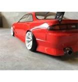 Addiction RC AD017-3 - Nissan Silvia S14 (Early) - BN Sports Body Kit - Rear Bumper