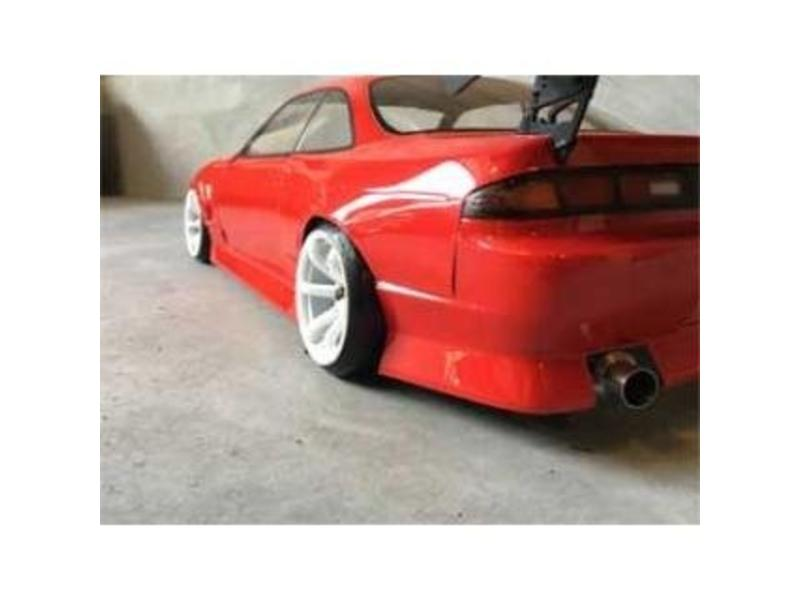 Addiction RC AD017-3 - Nissan Silvia S14 (Early) - BN Sports Body Kit - Rear Bumper
