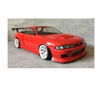 Addiction RC Nissan Silvia S14 (Early) - BN Sports Body Kit - Side Skirt & Fender Kit