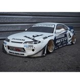 Addiction RC AD016-6 - Nissan Silvia S15 Rocket Bunny Body Kit - Full Set