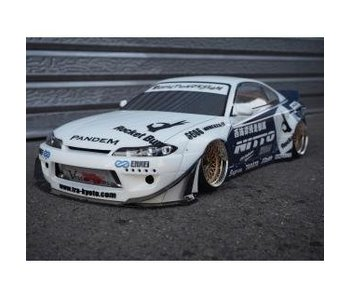 Addiction RC Nissan Silvia S15 Rocket Bunny Body Kit - Full Set
