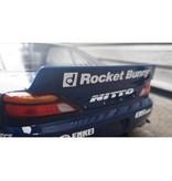Addiction RC AD016-5 - Nissan Silvia S15 Rocket Bunny Body Kit - Duck-Tail Wing & Rear Spoiler