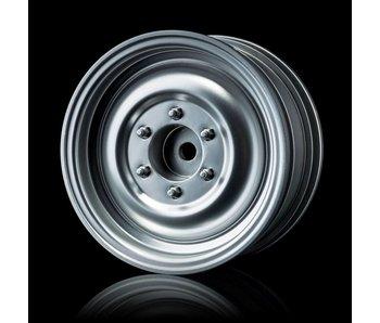 MST 60D Wheel (4) / Flat Silver