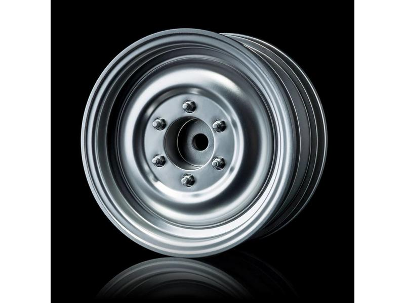 MST 60D Wheel (4pcs) / Color: Flat Silver