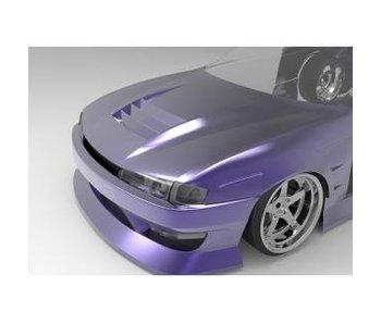 Addiction RC Nissan Silvia S14 (Late) - BN Sports Body Kit - Full Set with Aero Hood (Bonnet)