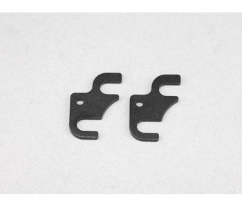 Yokomo SP Steering Block Spacer 1.0mm (2pcs)