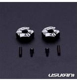 Usukani US88147 - Aluminium Clamping Wheel Hub 5.0mm (2pcs)