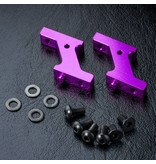 MST Aluminium Vertical Low Profile Servo Mount / Color: Purple