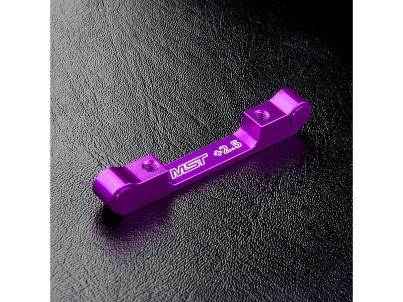 MST Aluminium Suspension Mount +2.5 / Color: Purple