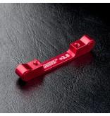 MST Aluminium Suspension Mount +2.5 / Color: Red