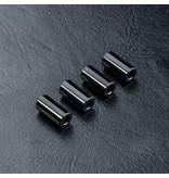 MST Aluminium Spacer φ3.0mm x φ6.0mm x 12.0mm (4pcs) / Color: Black