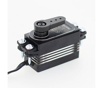 RC OMG Panther Brushless Digital Servo 10kg Full Metal Low Profile - Black