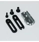 RC OMG TG-WJ01/SR - Adjustable Servo Horn - Silver - DISCONTINUED