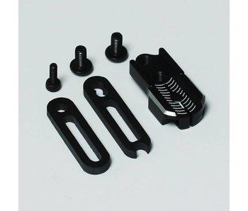 RC OMG Adjustable Servo Horn - Black