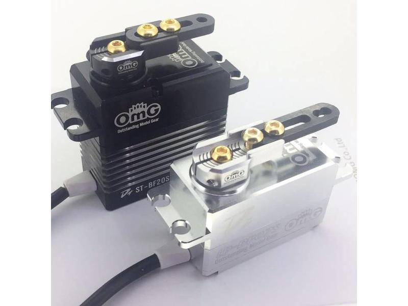 RC OMG TG-WJ01/BK - Adjustable Servo Horn - Black