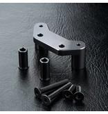 MST Aluminium Steering Arm Mount / Color: Black