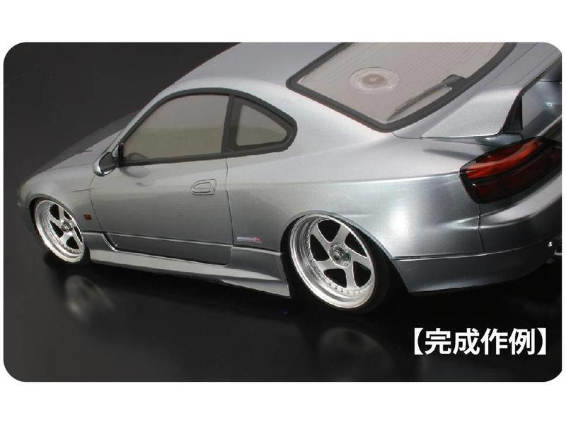 ABC Hobby 66739 - Side Skirt Genuine Type for Nissan Silvia S15 (66158)