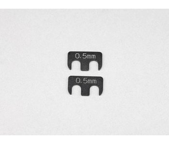 Yokomo SP Adjustable Rear H-Arm Shim 0.5mm (2pcs)
