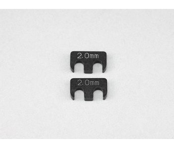 Yokomo SP Adjustable Rear H-Arm Shim 2.0mm (2pcs)