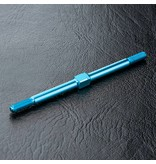 MST Aluminium Turnbuckle φ3mm x 60mm / Color: Blue