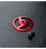 MST Aluminium Spur Gear Holder Cover / Color: Red