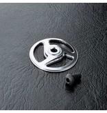 MST Aluminium Spur Gear Holder Cover / Color: Silver