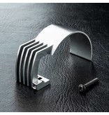 MST Aluminium Motor Heat Sink / Color: Silver