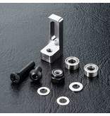 MST Aluminium Small Belt Pulley Mount / Color: Silver