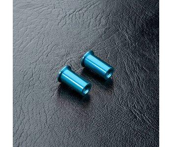 MST Alum. Steering Post (2) / Blue