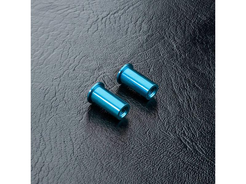 MST Aluminium Steering Post (2pcs) / Color:  Blue