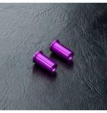 MST Aluminium Steering Post (2pcs) / Color:  Purple