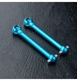 MST Aluminium CVD Universal Shaft (2pcs) / Size: 42mm / Color: Blue