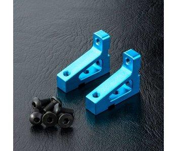 MST Alum. Stretch Servo Mount (2) / Blue