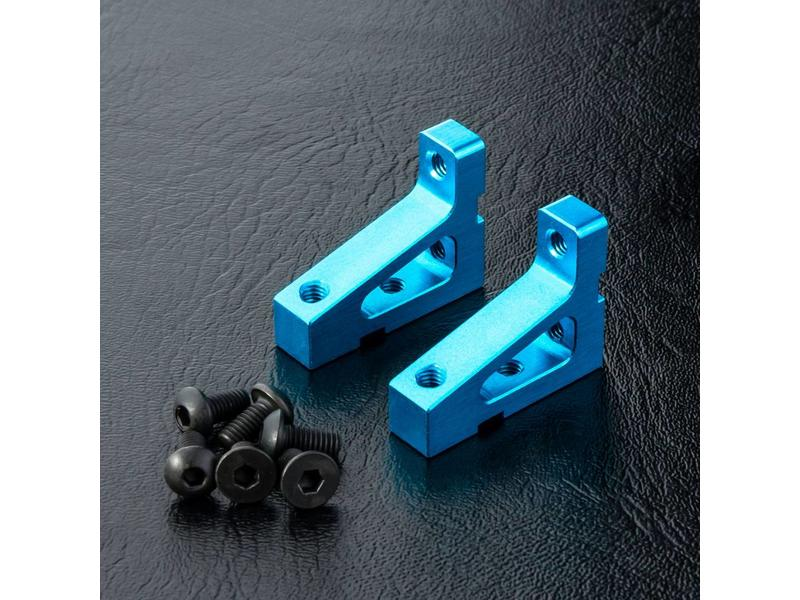 MST Aluminium Stretch Servo Mount (2pcs) / Color: Blue