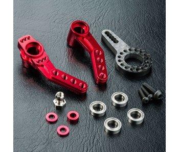 MST RMX 2.0 Alum. Steering Arm / Red